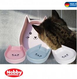 """Ceramic cat dish """"Kitty Face"""""""