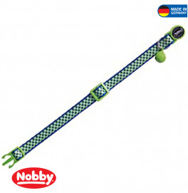 "CAT COLLAR ""DESIGN GREEN"""