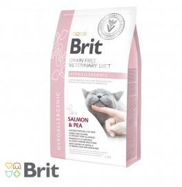 Brit GF Veterinary Diet Cat Hypoallergenic 2KG