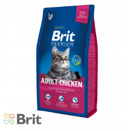Brit Premium Cat Adult Chicken 1,5KG/8KG