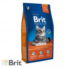 Brit Premium Cat Indoor 1,5KG/8KG
