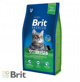 Brit Premium Cat Sterilised 1,5KG