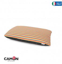 """Zippered Cushion """"Rainbow"""""""
