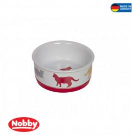 "Cat ceramic bowl ""FUN"""