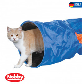 Cat tunnel blue 115x30cm