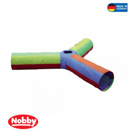 "Cat tunnel ""RAINBOW"" 3-way"