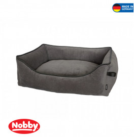 "Comfort bed square ""WILCO"" dark grey"