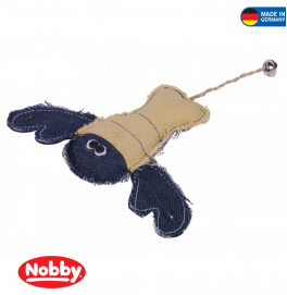 Fabric lobster with catnip