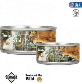 Taste Of The Wild Rocky Mountain Feline Formula With Salmon And Roasted Venison in Gravy 85G/155G