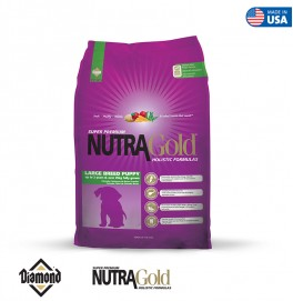 Nutra Gold Holistic Formula-Large Breed Puppy 15KG