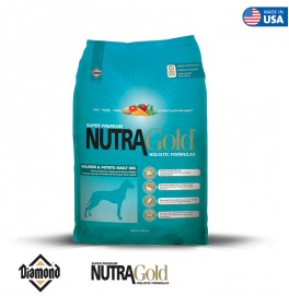 Nutra Gold Holistic Formula-Salmon And Potato Adult Dog 15KG