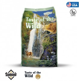 Taste Of The Wild Rocky Mountain Feline Formula With Roasted Venison And Smoked Salmon 2KG (42/18)