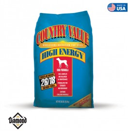 Country Value Hi-Energy Adult Dog 22.60KG