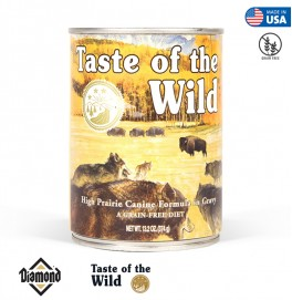 Taste Of The Wild High Prairie Canine Formula With Bison in Gravy 374GR