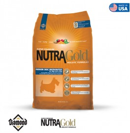 Nutra Gold Holistic Formula-Indoor Dog Microbites 3KG
