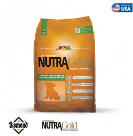 Nutra Gold Holistic Formula-Puppy Microbites 3KG