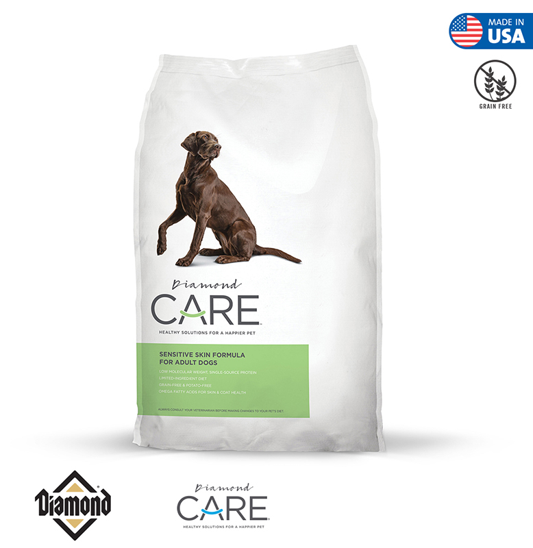 Diamond Care Sensitive Skin Formula For Adult Dogs 3.63KG/11.34KG