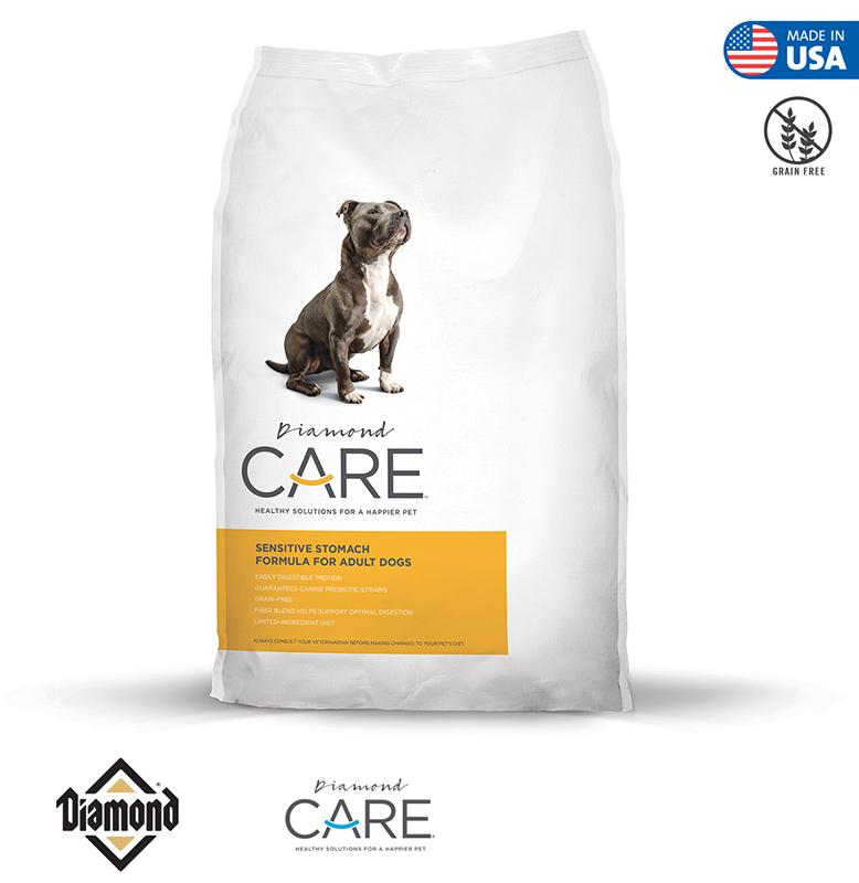 Diamond Care Sensitive Stomach Formula For Adult Dogs 3.63KG/11.34KG