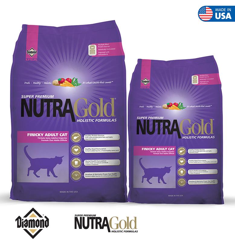 Nutra Gold Holistic Cat Formula-Finicky Adult Cat 1KG/3KG