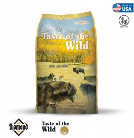 Taste Of The Wild High Prairie Canine Formula With Roasted Bison And Roasted Venison 2KG/6KG/12.2KG (32/18)