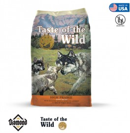 Taste Of The Wild High Prairie Puppy Formula With Roasted Bison And Roasted Venison 2KG/6KG/13KG (28/17)