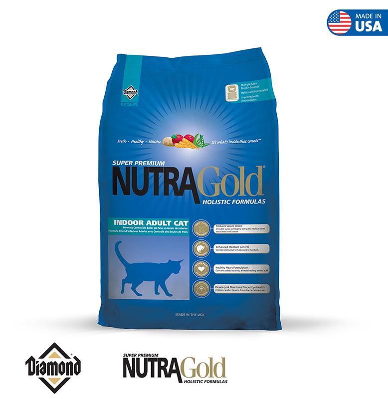 Nutra Gold Holistic Cat Formula-Indoor Adult Cat 1KG/3KG