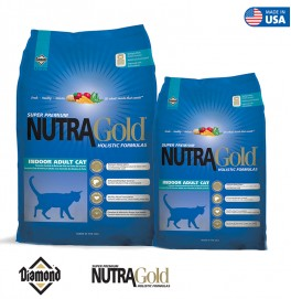 Nutra Gold Holistic Cat Formula-Indoor Adult Cat 1KG/3KG