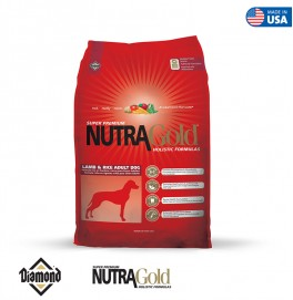 Nutra Gold Holistic Formula-Lamb And Rice Adult Dog 3KG/15KG
