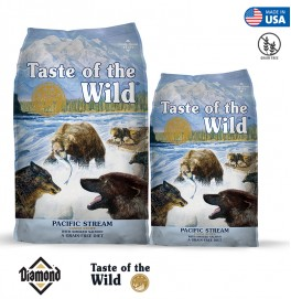 Taste Of The Wild Pacific Stream Canine Formula With Smoked Salmon 2KG/12.2KG (25/15)