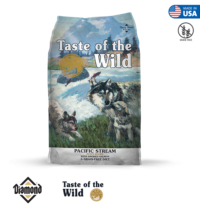 Taste Of The Wild Pacific Stream Puppy Formula With Smoked Salmon 2KG/12KG (27/15)