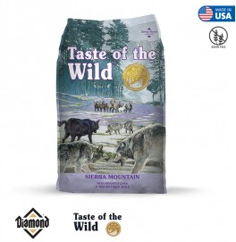 Taste Of The Wild Sierra Mountain Canine Formula With Roasted Lamb 2KG/12.2KG (25/15)