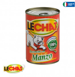 LeChat Chunkies with Beef 400g
