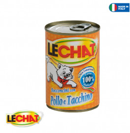 LeChat Chunkies with Chicken/Turkey 400g