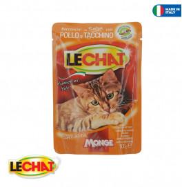 LeChat Pouche Chicken/Turkey 100g