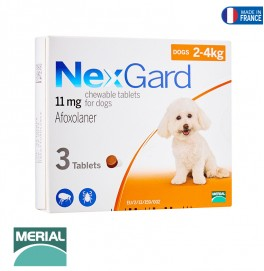 NEXGARD DOG  3 CHEWS