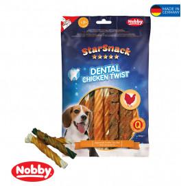 StarSnack Dental Chicken Twist  12,5cm, 5pcs, 140g