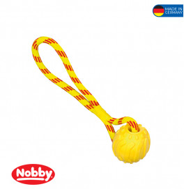 TPR foam ball with rope  37cm