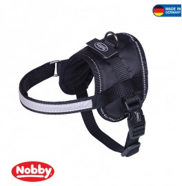 Harness SEGURO black waist: 82-110 cm; W: 40 mm