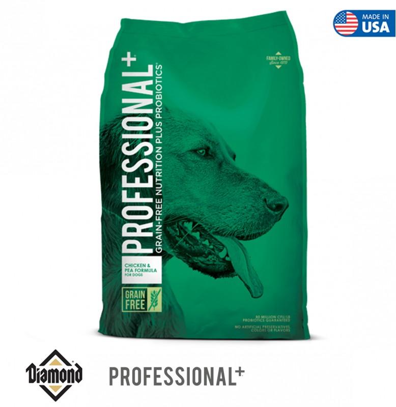 Diamond Professional Plus Grain-Free Chicken And Pea 12.70KG
