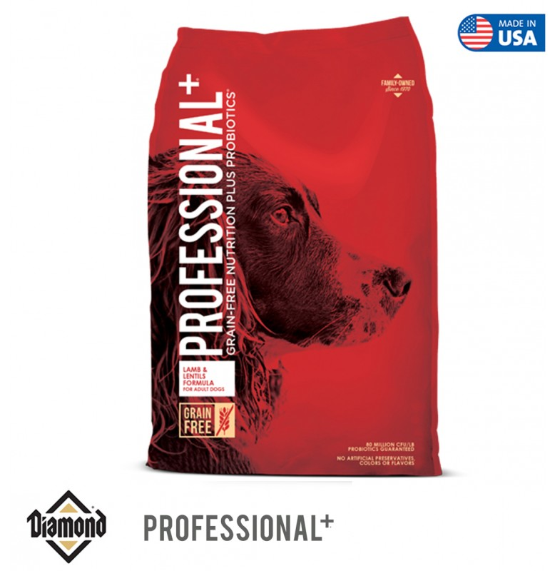 Diamond Proffessional Plus Grain-Free Lamb And Pea 12.70KG