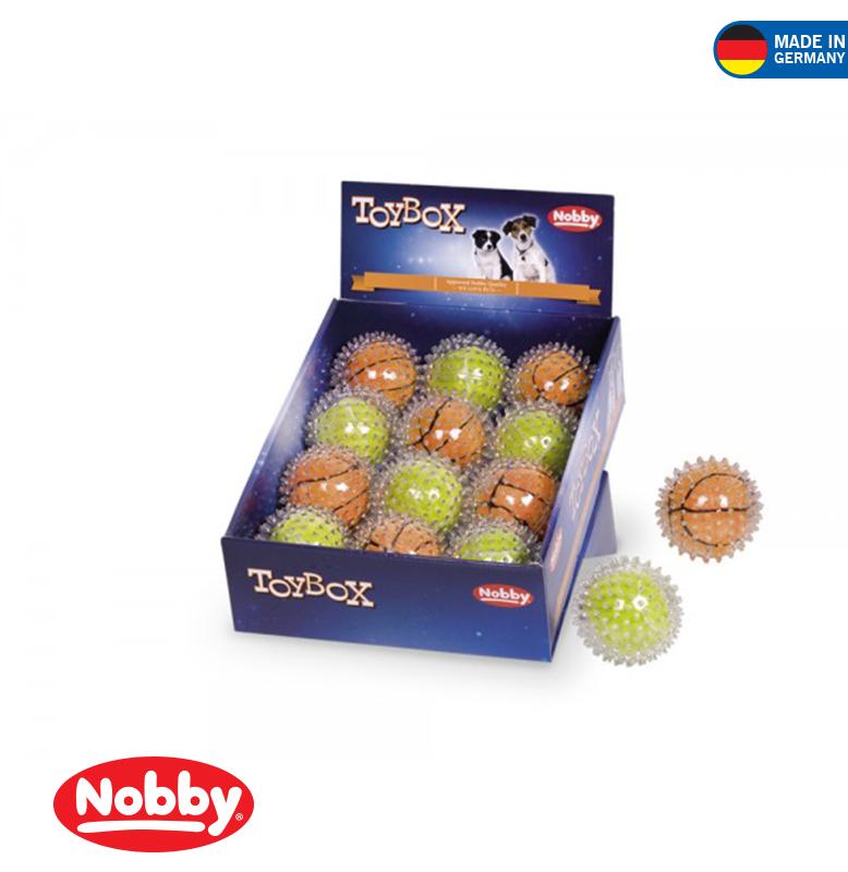 Plush Ball in Spiky ball 8.5cm