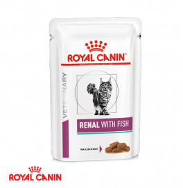 Royal Canin Renal With Fish Pouch 85gr