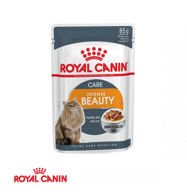 Royal Canin Intense Beauty In Gravy 85GR