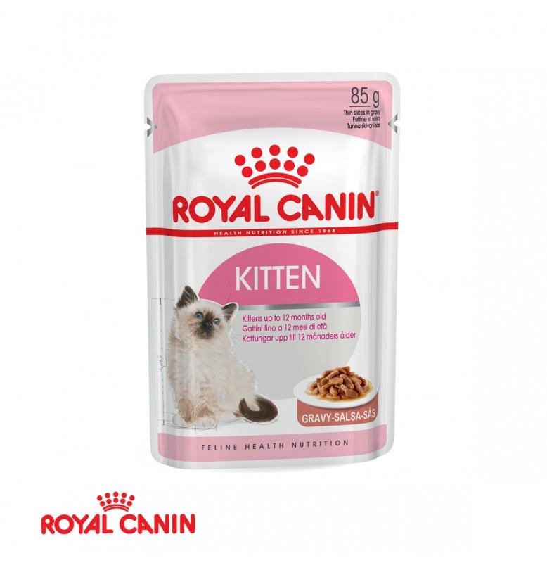 Royal Canin Kitten In Gravy 85GR