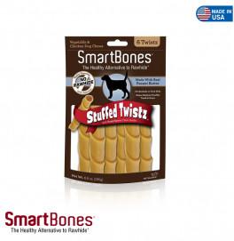 SMART BONES TWISTZ PEANUT BUTTER 6 PIECES