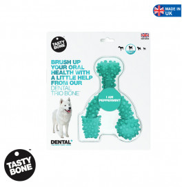 TASTY BONE DENTAL TRIO LARGE PEPPERMINT