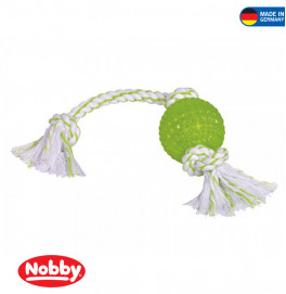 Ball with rope 44cm
