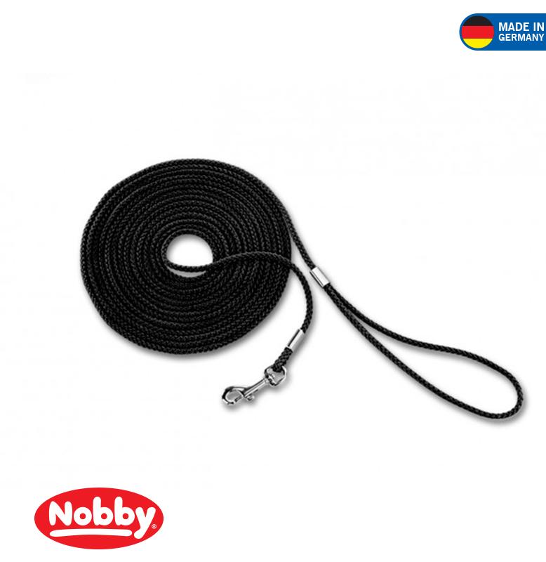 Tracking leash round  black