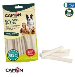 WHITE CHEW STICKS WITH BROKEN RICE 120GR