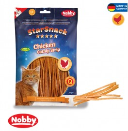 STARSNACK CHICKEN CATNIP STRIP  85 G
